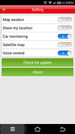 Customized Multiple Language GPS Car Tracking Software Google Map Management